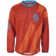 Scott Progressive 10 Langarmshirt red/tangerine orange