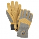Hestra Glove Army Leather Couloir light grey/tan