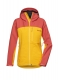 Pyua Gorge-Y Jacket Women 19/20 dark rose/pumpkin  yellow